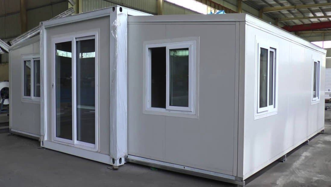 Expandable Container House with fire resistance property